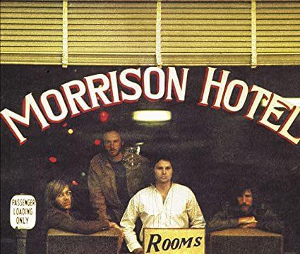 """Il 9 febbraio 1970 esce il quinto lp dei DOORS """"MORRISON HOTEL""""."""